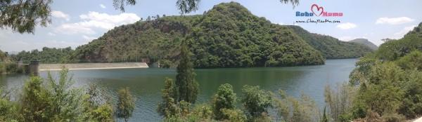 白龙河水库全景